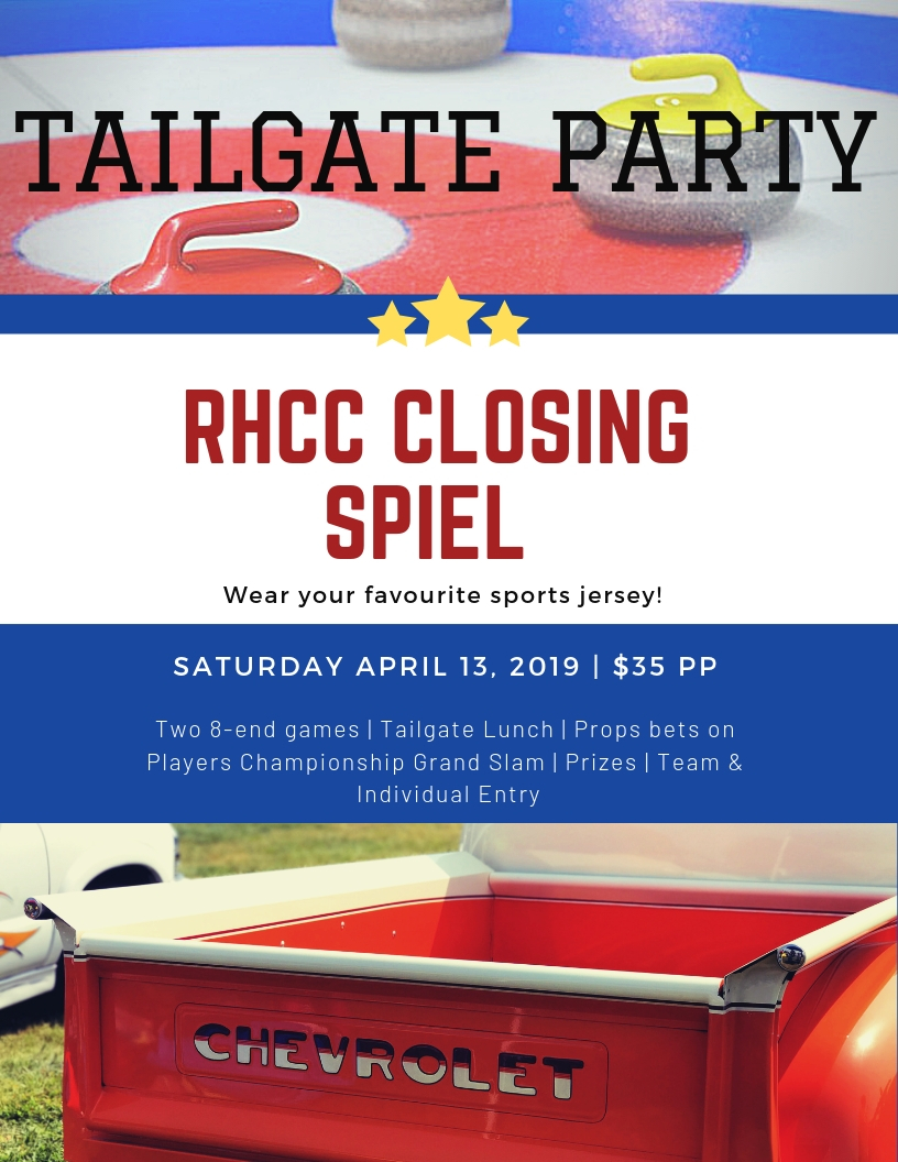 RHCC Tailgate Party Closing Spiel